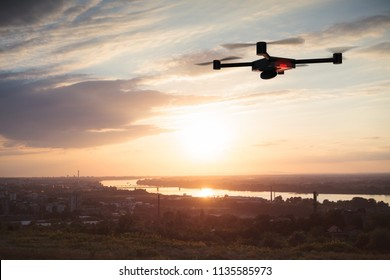aerial surveying with drone