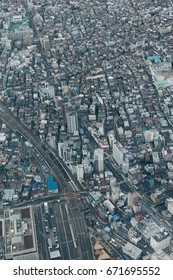 Aerial Tokyo View