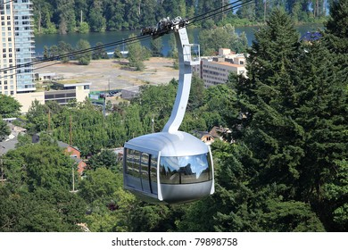 Aerial tram, Portland Oregon.