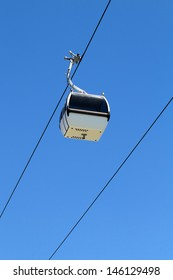 Aerial tramway, also known as cable car