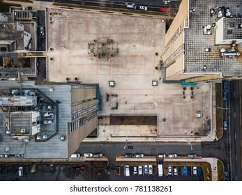 Aerial of Trenton New Jersey