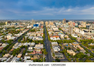 Aerial view of Adelaide in South Australia