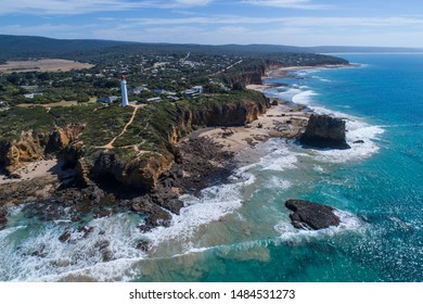 Aerial view of Aireys Inlet