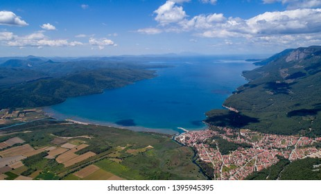 Aerial view of Akyaka - Muğla Turkey