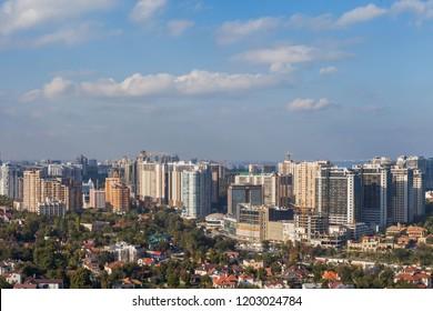 Aerial view of Arcadia in Odessa, Ukraine