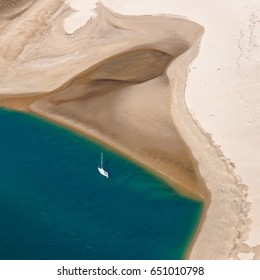 Aerial view of Banc d'Arguin - Arcachon - France
