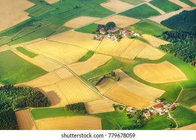 aerial view of bavaria, germany