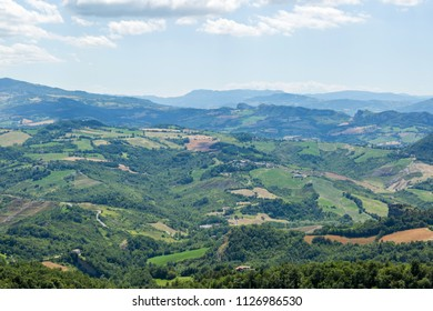 Aerial view of beauty landscape.