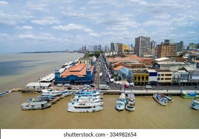 Aerial View of Belem do Para, Brazil