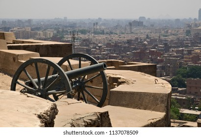 Aerial view of Cairo from Saladin Citadel, Egypt