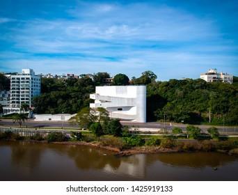 Aerial view Iberê Camargo Foundation