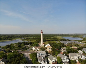 Aerial View Cape May Lighthouse