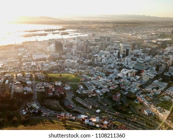 Aerial view of Cape Town, South AfricaG