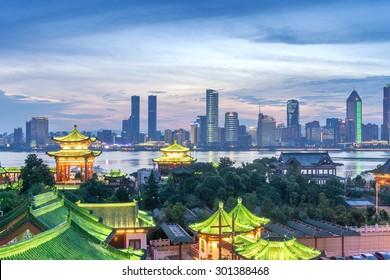 Luftbild der chinesischen Stadt, Shenzhen