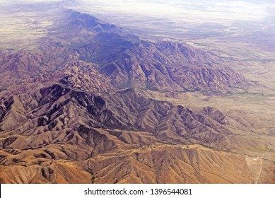 Aerial view of Cochise Stronghold in the Dragoon mountains of Southern Arizona