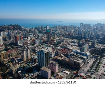 Aerial view of Viña del Mar, Chile