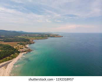 Aerial view of Delphin resort, Bulgaria.