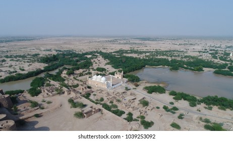 Aerial View of Derawar fort Punjab,Pakistan