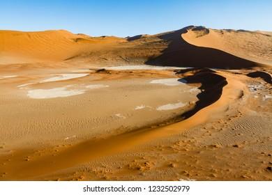 Aerial view, Desert Landscape, Sossusvlei