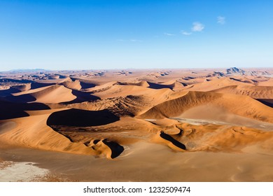Aerial view, Desert Landscape, Sossusvlei Nationalpark