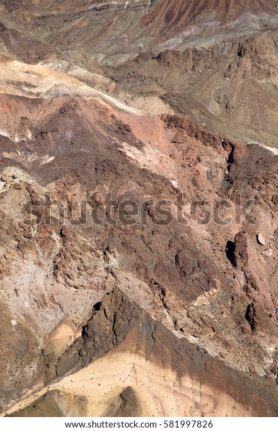 aerial view of the desert near grand canyon, Nevada