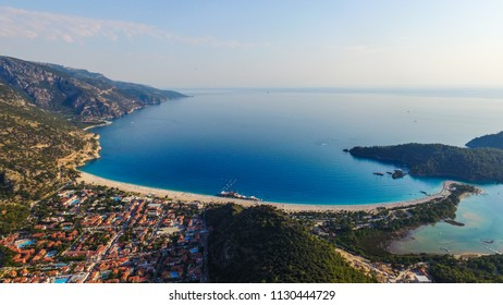 Aerial view of Fethiye city