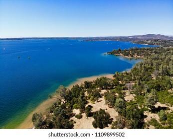 Aerial View of Folsom Lake