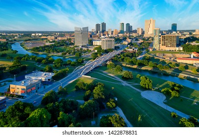 Aerial View Fort Worth Texas