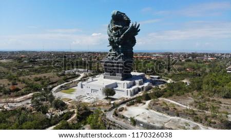 Aerial View Garuda Wisnu Kencana Gwk Stock Photo Edit Now