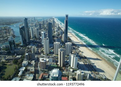 aerial view from gold coast