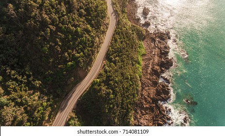 Aerial View of Great Ocean Road, Australia