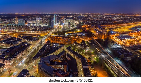 Aerial View of The Hague, The Netherlands