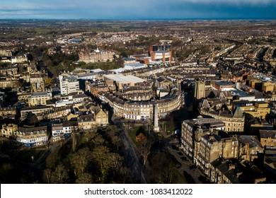 Aerial View of Harrogate