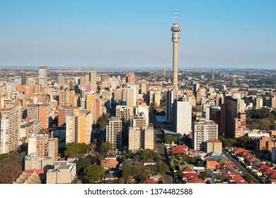 Aerial view of Hillbrow