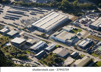 Aerial view : Industrial zone
