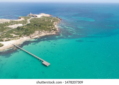 aerial view of the jetty, Robe