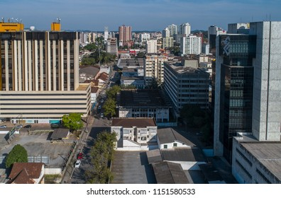 Aerial View from Joinville's Dowtown, Brazil, July, 2018