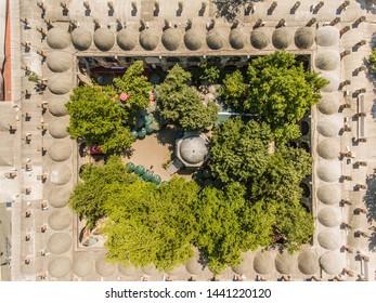 Aerial view of Koza Han; Turkey's best silk bazaar - Shutterstock ID 1441220120