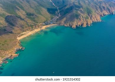 Aerial view of Ky Co beach, Quy Nhon, Binh Dinh, Vietnam - Shutterstock ID 1921314302
