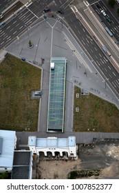 Aerial View of Leipzig, Germany