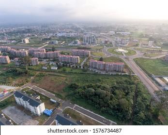 Aerial View of Malabo Capital of Equatorial Guinea