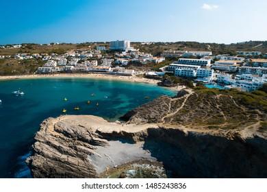 Aerial view of Menorca - Arenal d'en Castell