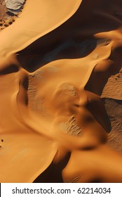 Aerial View of the Namib Desert