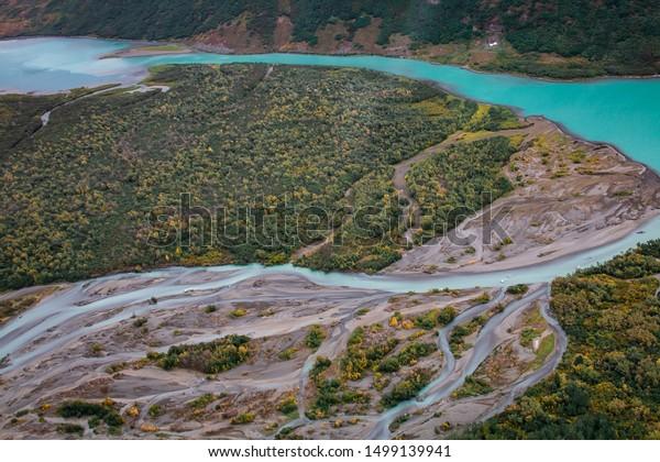 Aerial View Near Dillingham Alaska Stock Photo Edit Now 1499139941