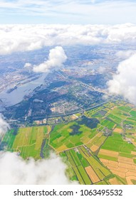 Aerial View of The Netherlands