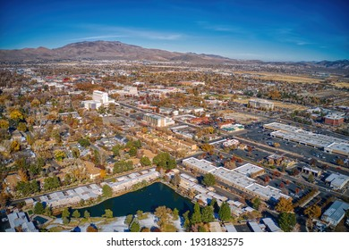 Aerial View of the Nevada Capitol of Carson City