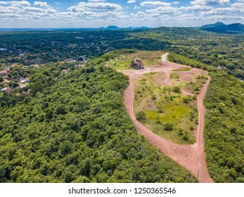 Aerial view from the observation deck at Cerro Pero in Paraguay - Shutterstock ID 1250365546
