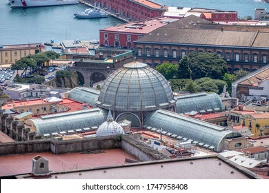 Aerial view on Galleria Umberto I, Napoli