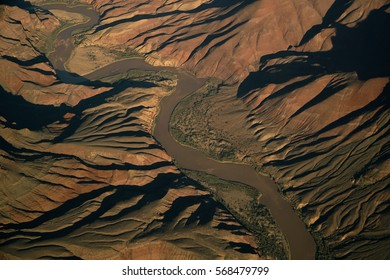 Aerial View on the Grand Canyon Colorado River