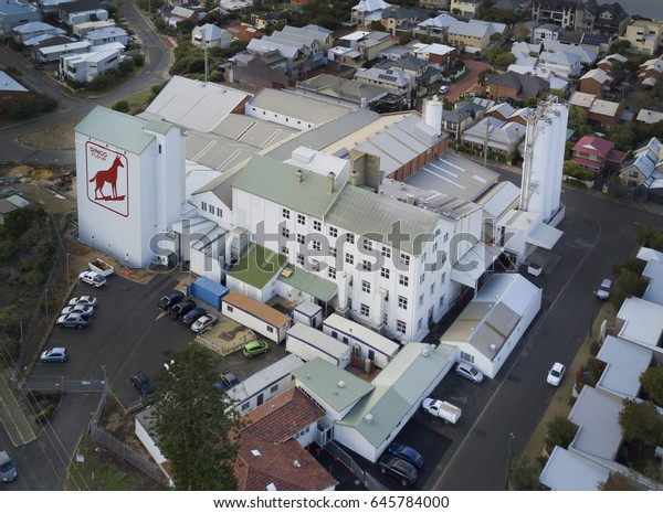 Aerial View Over Famous Dingo Flour Stock Photo (Edit Now